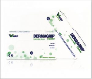 DERMAGRIP Classic Latex Examination Gloves