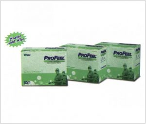 PROFEEL DHD Sensitive Powder Free Aloe Coated